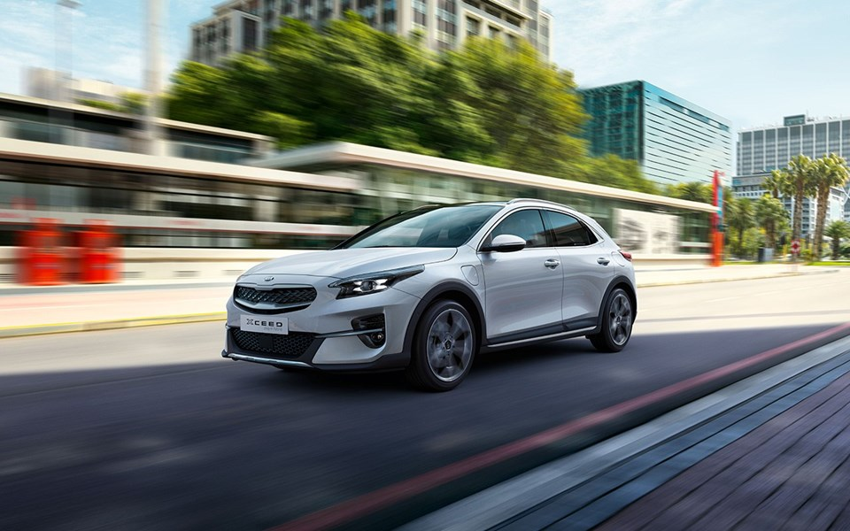 Kia Cd Cuv Phev My20 Driving T